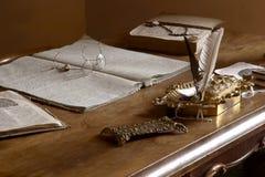 biuro fasonujący stary prywatny obrazy royalty free