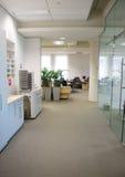 biuro korytarza Obrazy Royalty Free