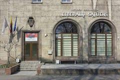 Biuro Litewska partia liberalna Obrazy Stock