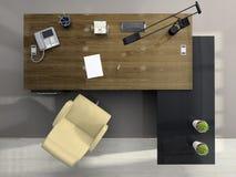 biuro na widok Fotografia Stock