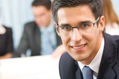 biuro portret biznesmena Zdjęcia Stock