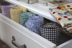 biuro pudełkowata tkanina obrazy stock