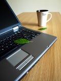 biuro stołowa herbaty. Fotografia Stock