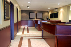 biuro wewnętrznego eleganckie Obrazy Stock