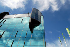 biuro Wilna nowoczesnej architektury Obrazy Royalty Free