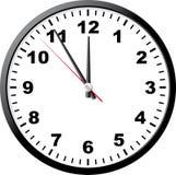 biuro zegara Zdjęcia Stock