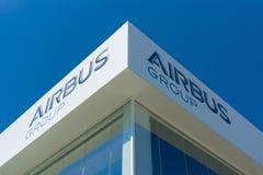 Biurowa Aerobus grupa Obrazy Stock