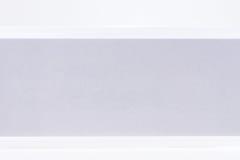 Biurowa falcówka dla swój etykietki na bielu Zdjęcia Stock