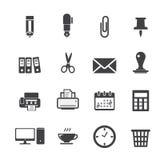 Biurowa ikona Zdjęcie Royalty Free