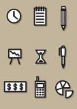Biurowa ikona Zdjęcia Stock