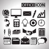 Biurowa ikona dla biznesu Zdjęcie Royalty Free