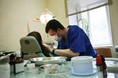 biurowa operacji stomatologicznej zdjęcie stock