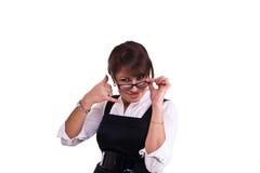 biurowa pracowniana kobieta Obrazy Royalty Free