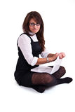 biurowa pracowniana kobieta obraz stock
