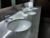 Biurowa toaleta Obrazy Stock