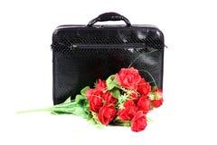 Biurowa walizka Zdjęcie Royalty Free