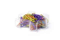 Biurowe dostawy - Paperclips zdjęcie royalty free