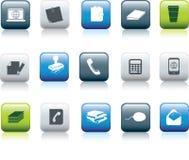 biurowe ikon rzeczy Obrazy Stock