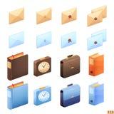 Biurowe ikony Zdjęcie Stock