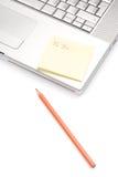 biurowego zadania pracownik Obraz Stock