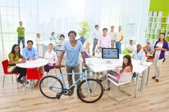 biurowi grup biznesowych ludzie Zdjęcia Royalty Free
