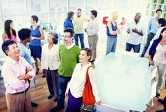 biurowi grup biznesowych ludzie Zdjęcie Royalty Free