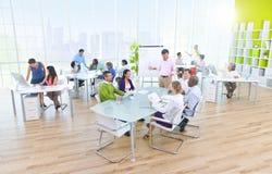 biurowi grup biznesowych ludzie Fotografia Stock
