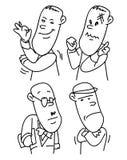 Biurowi ludzie charakterów Obrazy Royalty Free