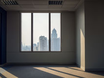 Biurowi okno buduje widok Fotografia Royalty Free