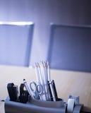 Biurowi pokojów konferencyjnych ołówki Zdjęcia Stock
