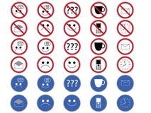 Biurowi znaki. Fotografia Stock