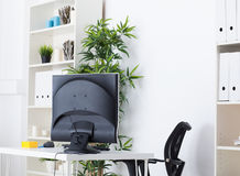 Biurowy biurko Obraz Royalty Free