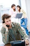 biurowy biznesmena telefon Zdjęcia Stock