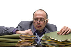 Biurowy burnout Fotografia Stock