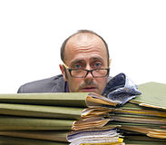 Biurowy burnout Fotografia Royalty Free