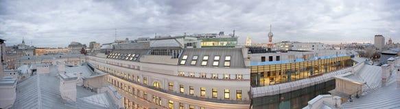 Biurowy centrum budynek mieszkalny Zdjęcie Stock