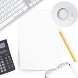 Biurowy desktop Zdjęcie Stock