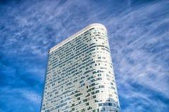 Biurowy drapacz chmur z okno na powlekanie fasadzie, los angeles obrona, Francja Zdjęcia Royalty Free