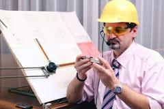 biurowy dyskusja telefon Fotografia Stock