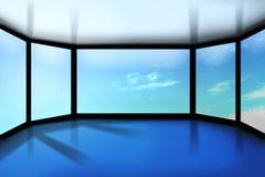 biurowy izbowy drapacz chmur Zdjęcia Royalty Free