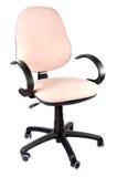 Biurowy krzesło na białym tle Fotografia Royalty Free