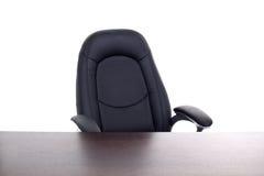 Biurowy krzesło i biurko Obrazy Stock