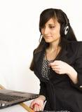Biurowy operator Fotografia Stock