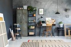 Biurowy pokój freelancer Zdjęcie Royalty Free