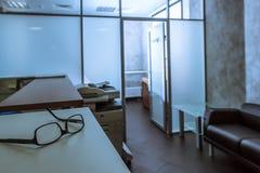 Biurowy recepcyjny biurko fotografia stock