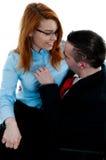 biurowy romans Zdjęcia Royalty Free