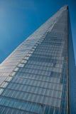 Biurowy szklany budynek w abstrakcie Fotografia Stock