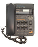biurowy sznura telefon Obraz Royalty Free