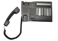biurowy telefon Fotografia Royalty Free