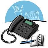 biurowy telefon Fotografia Stock